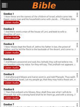 Bible KJV Free (Audio) apk screenshot