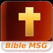 Bible MSG Free (Audio) icon