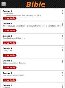 Biblia Reina Valera 1960 Audio apk screenshot