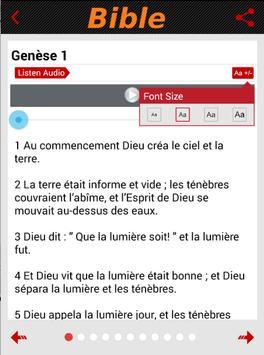 Bible catholique Crampon Audio apk screenshot