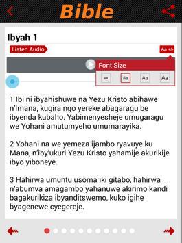KinyaRwanda Bible (Audio) apk screenshot