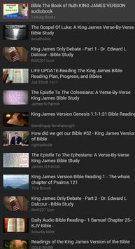 Bible KJV App Free poster