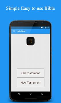 KJV Bible (King James Version) poster