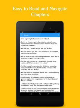 KJV Bible (King James Version) apk screenshot