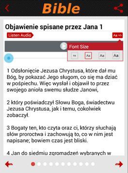 Polska Biblia Gdańska (Audio) apk screenshot