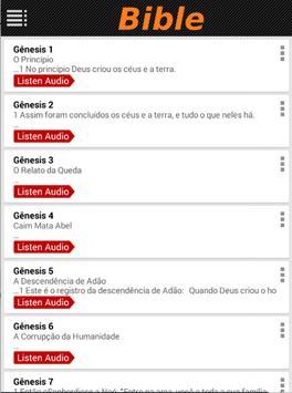 Portuguese bible NIV (Audio) apk screenshot