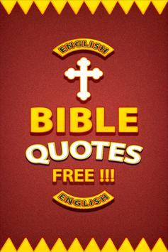 Bible Quotes Free poster