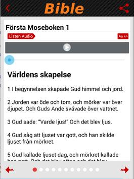 Swedish Bible SFB (Audio) apk screenshot