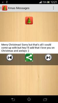 Xmas and New Year Messages apk screenshot