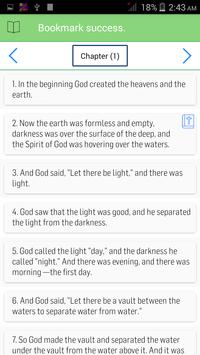 NIV Bible Offline apk screenshot