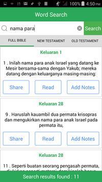 Alkitab Bible apk screenshot