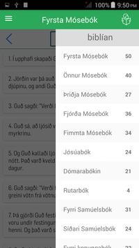 Icelandic Bible apk screenshot