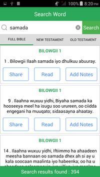 Somali Bible apk screenshot