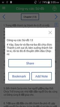 Vietnamese Bible apk screenshot