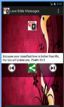 Bible Love Messages apk screenshot