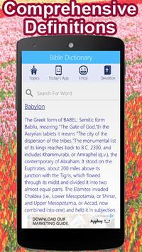 Bible Dictionary apk screenshot