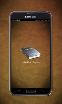 Holy Bible - English poster