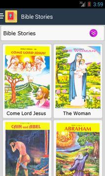 Bible Stories - English Comics apk screenshot