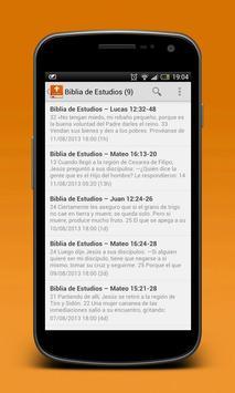 Estudios Bíblicos a Diario poster