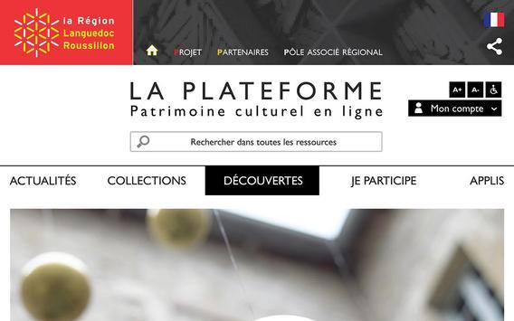 Patrimoine en ligne Languedoc apk screenshot