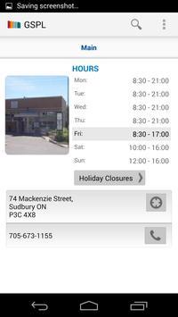 Greater Sudbury Public Library apk screenshot