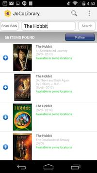 Johnson County Library Mobile apk screenshot