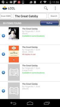 Logan Library Mobile apk screenshot