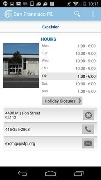 San Francisco Public Library apk screenshot