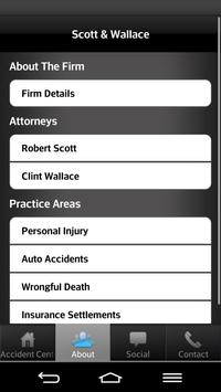 Scott & Wallace PI Attorneys apk screenshot
