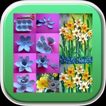 Best DIY FLower Craft Ideas poster