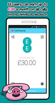 EE Cashback: Call Rewards apk screenshot