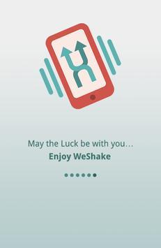 WeShake apk screenshot