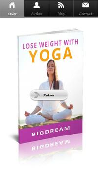 Lose Weight With Yoga poster