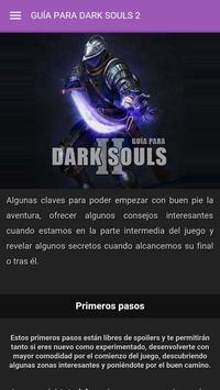 Guía para Dark Souls 2 poster
