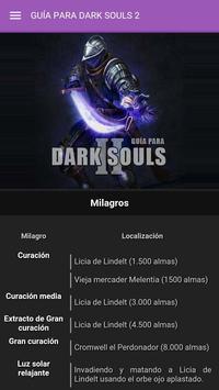 Guía para Dark Souls 2 apk screenshot
