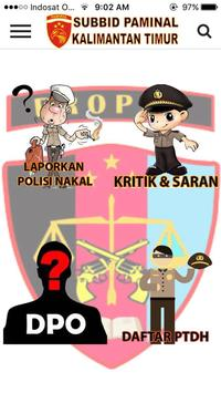 Lapor Propam - Paminal Kaltim poster