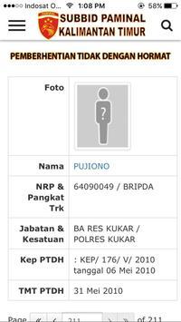 Lapor Propam - Paminal Kaltim apk screenshot