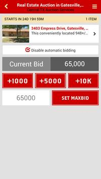 Central Texas Auction Services apk screenshot