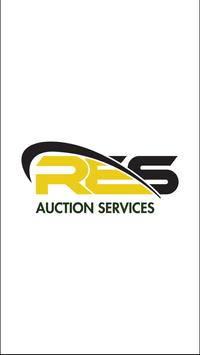 RES Auction Services poster