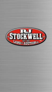 RJ Stockwell Auction & Land Co poster