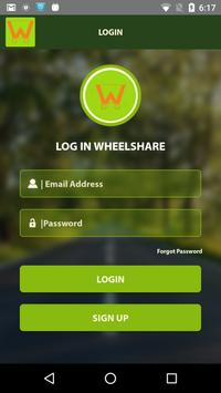 Wheelshare apk screenshot