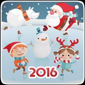 Новый год поздравления (2016) icon