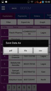 Biofem Transact apk screenshot