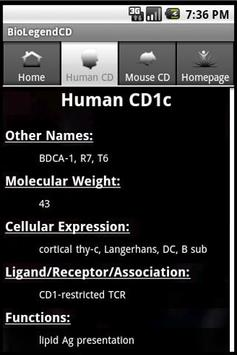 BioLegend CD Molecules apk screenshot