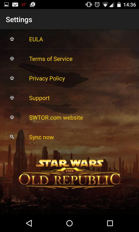 The Old Republic™ Security Key - Apps on Google Play