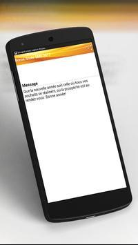 Top  Bonne Année SMS 2017 apk screenshot