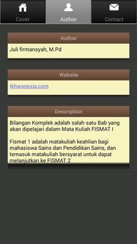 Bilangan Komplek - FISMAT apk screenshot