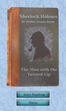 Sherlock Holmes #1, engl/span poster