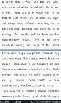Sherlock Holmes #1, engl/span apk screenshot