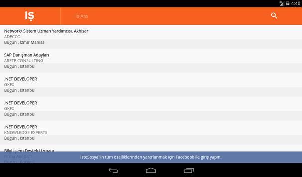 Bilişim Sektörü İlanları apk screenshot